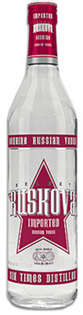 Ruskova Vodka Citron 750ml